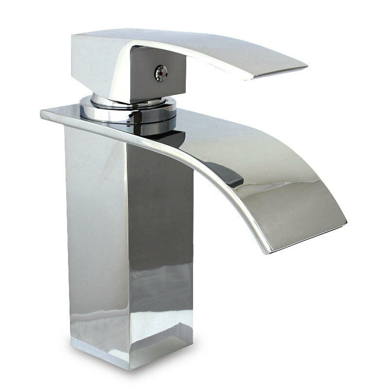 curvare waterfall bathroom basin sink mixer tap great quality great