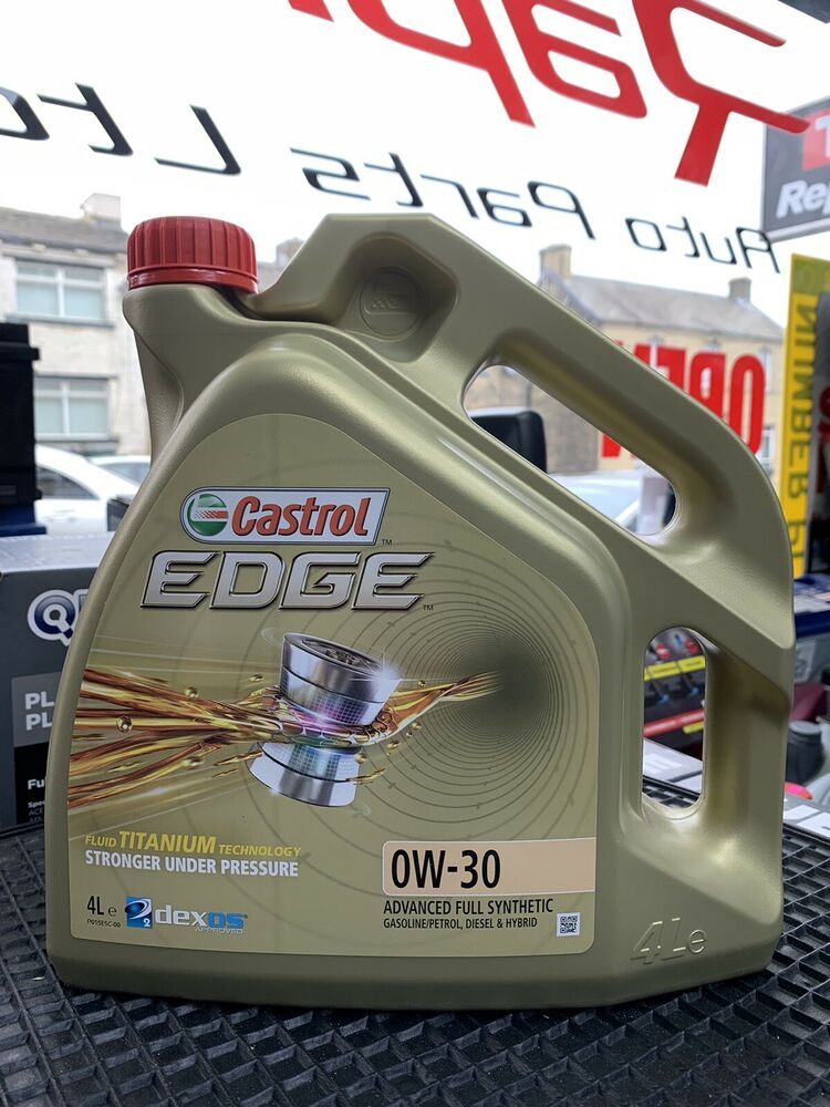Castrol Edge Fully Synthetic 0w30 Engine Oil 8 Litres