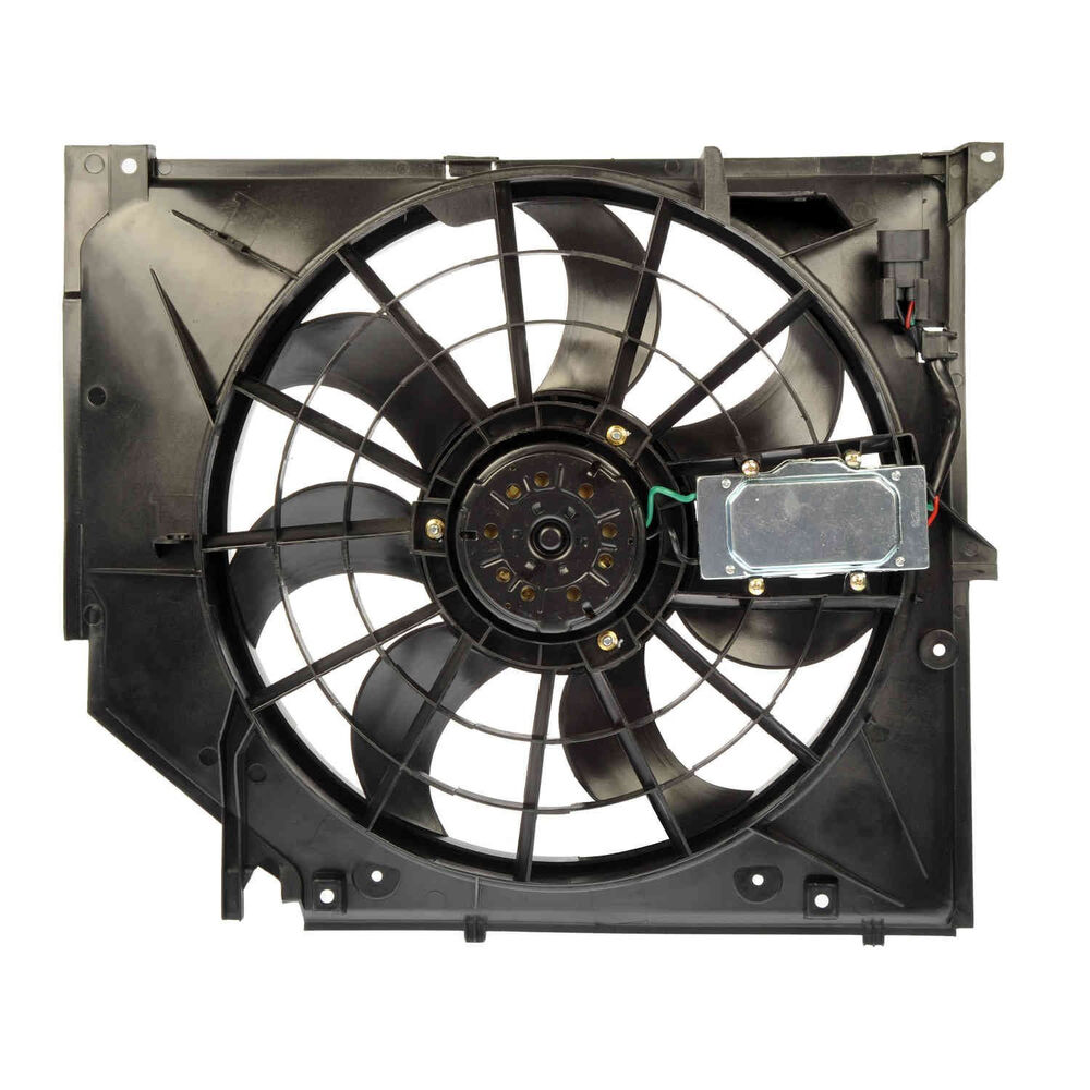 Genuine bmw e46 3 series 390w electric cooling fan 17117561757 new ebay