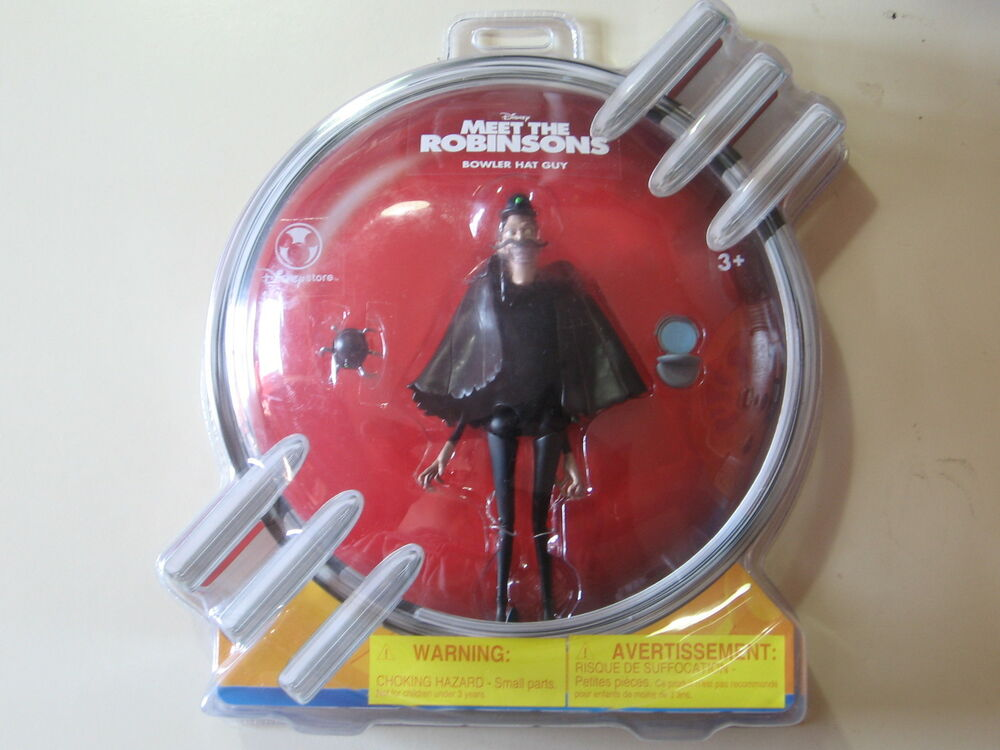 Meet the Robinsons: Bowler Hat Guy action figure, Brand ...