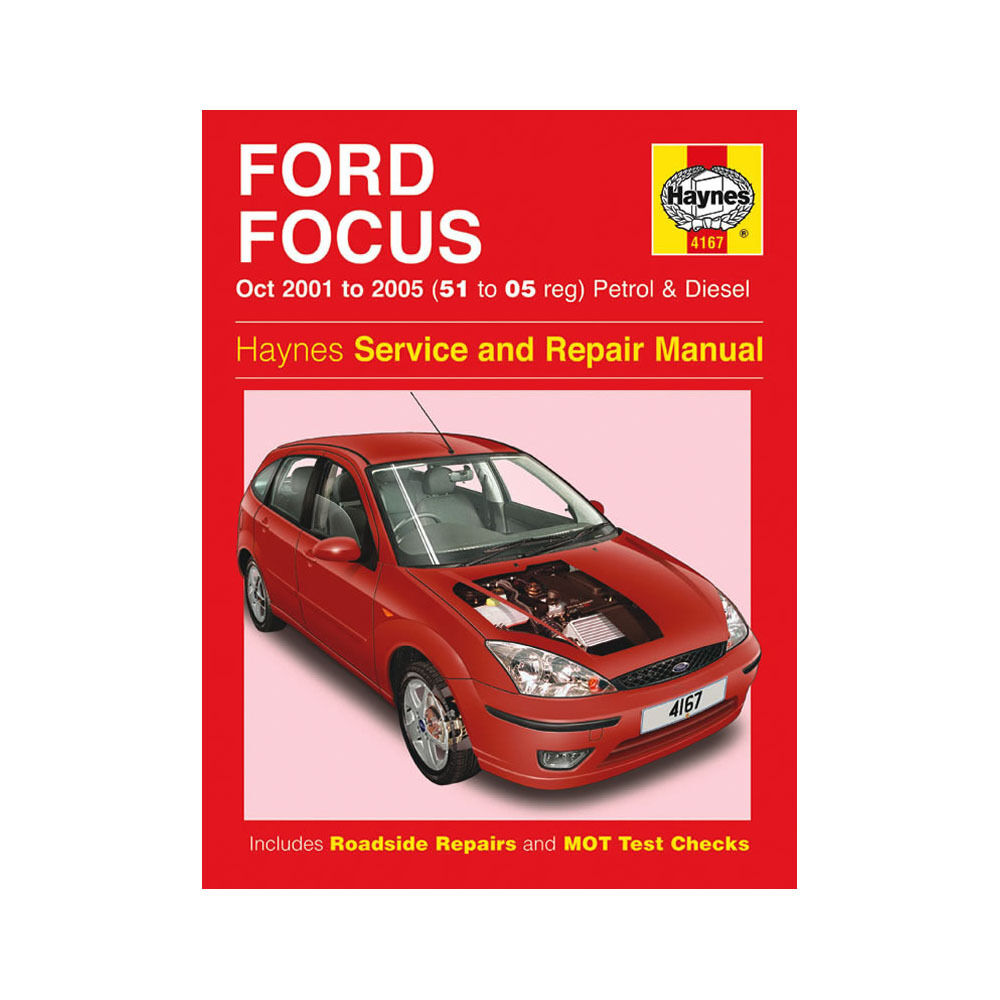 ford focus 1 4 1 6 1 8 2 0 petrol 1 8 tddi ci 2001 05 51 05 reg haynes manual ebay. Black Bedroom Furniture Sets. Home Design Ideas