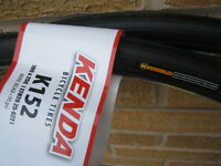 2 x 700 x 25c Kenda Racing or Road  Bike / Cycle Tyres K152 Puncture Protection