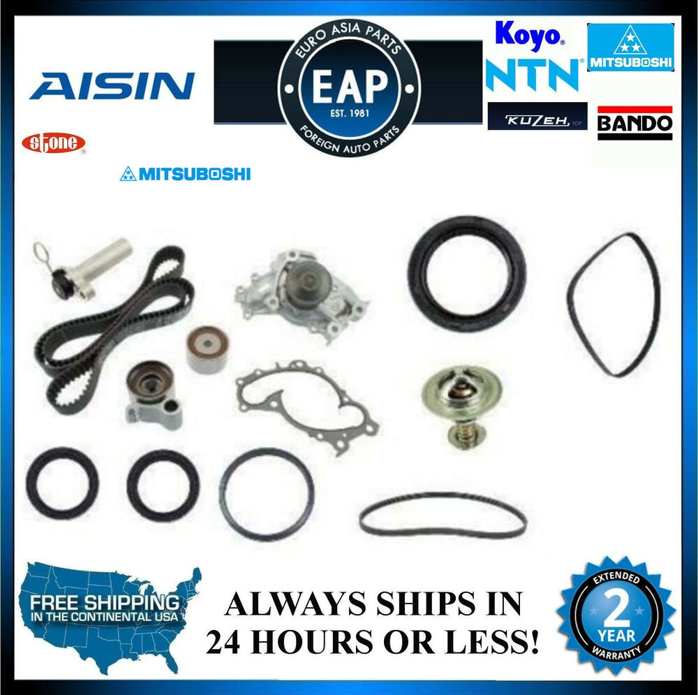 Toyota Camry Timing Belt Replacement: OEM Aisin Avalon Camry Sienna Solara 3.0 V6 Complete