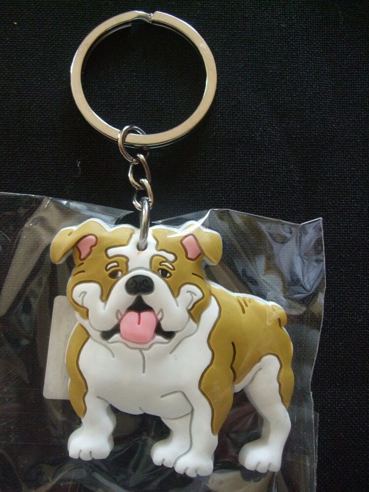 Porte cl s humoristique chien bouledogue anglais ebay for Porte and anglais