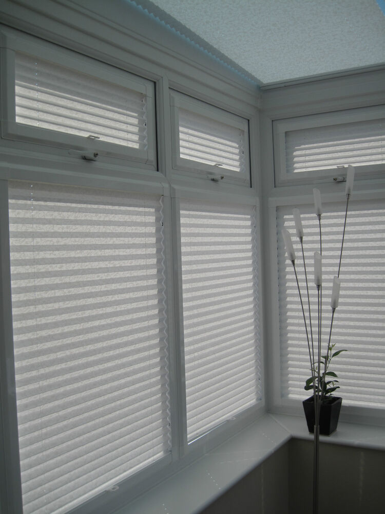 Perfect Fit Pleated Blinds For Conservatory Windows And