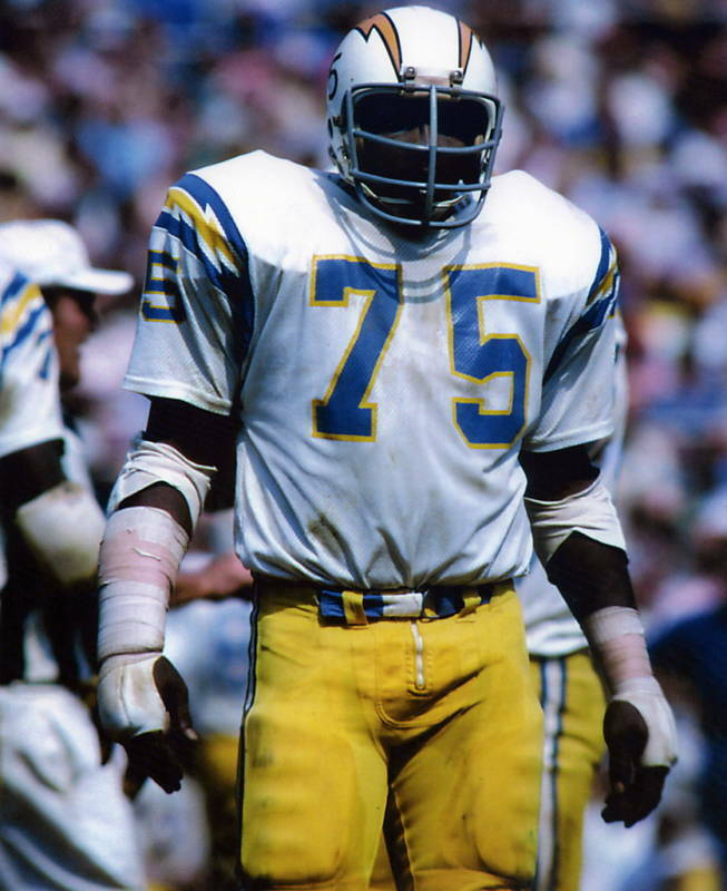 San Diego Chargers Email: DEACON JONES SAN DIEGO CHARGERS 8X10 SPORTS PHOTO (J)