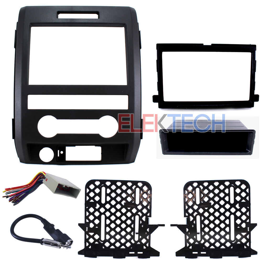radio replacement dash kit double din w wire harness. Black Bedroom Furniture Sets. Home Design Ideas