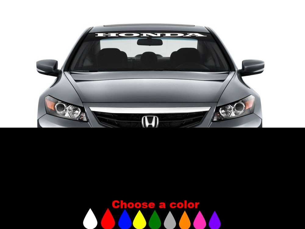 Honda Accord Stickers EBay - Honda accord decals stickers