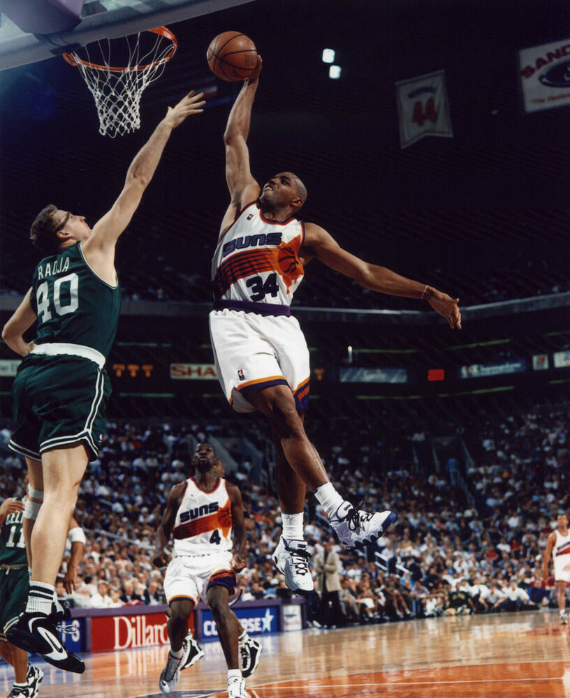 CHARLES BARKLEY PHOENIX SUNS 8X10 SPORTS PHOTO #L | eBay