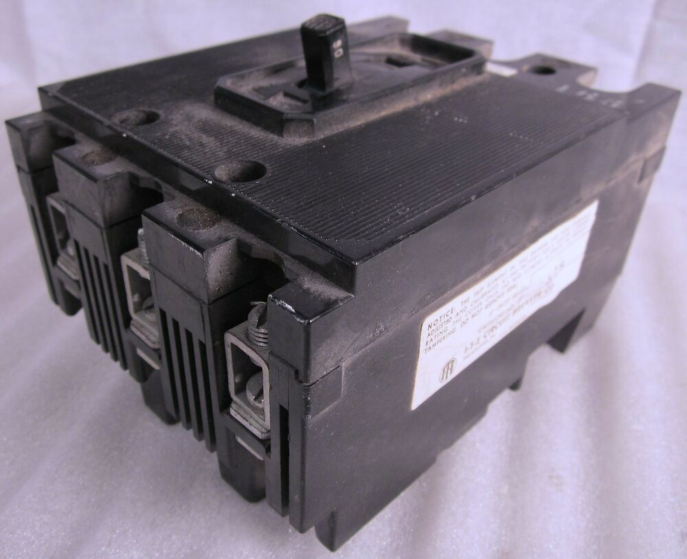 ite 90 amp 3 phase circuit breaker et 1578 used ebay. Black Bedroom Furniture Sets. Home Design Ideas