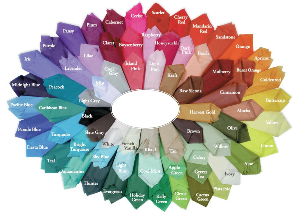 Satin Wrap Tissue Wrapping Paper Luxury 10 Sheets 30
