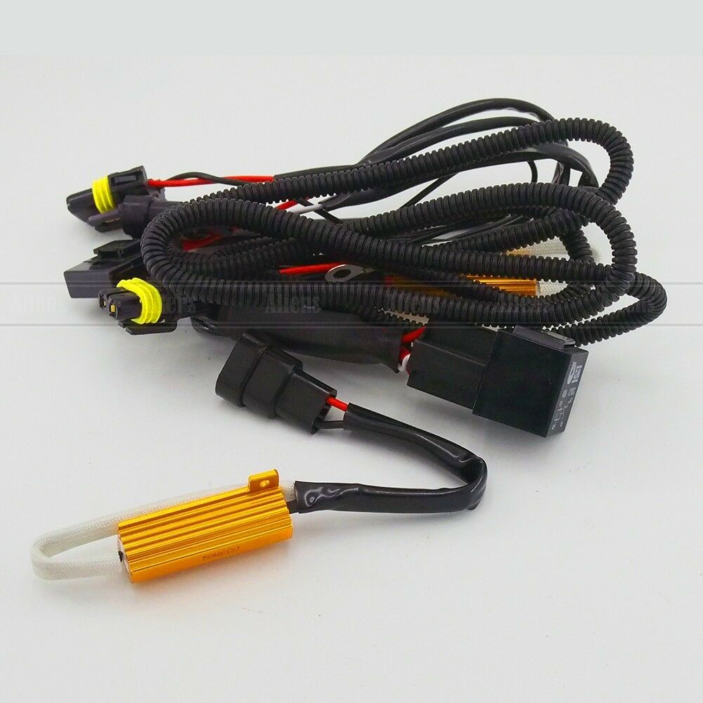 H3 Wiring Harness Example Electrical Diagram Hummer Trailer H1 H7 H11 9005 9006 Hb4 Single Beam Hid Conversion Kit John Deere 140