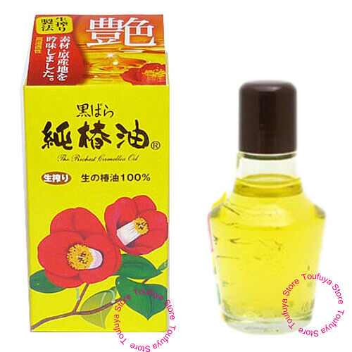 New Kurobara Camellia Oil Japanese Tsubaki For Hair And