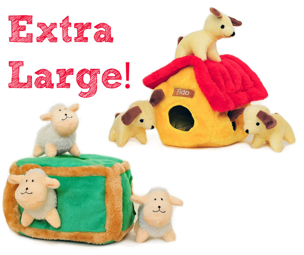 Extra Large Toys : Zippypaws extra large burrows squeaky plush interactive