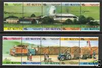 St Kitts 1987 Sugar Cane Industry SG 227/36 MNH