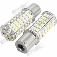 2 X 1156 White 102 SMD LED Turn Signal Light Bulb Lamp