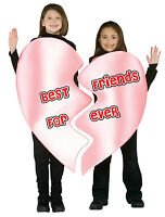 BFF Heart Best Friends Forever Pink 2 pc. Dress Up Halloween Child Costumes