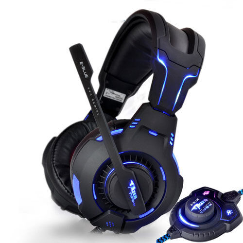 led light multimedia rpg fps pro pc gaming headphones. Black Bedroom Furniture Sets. Home Design Ideas