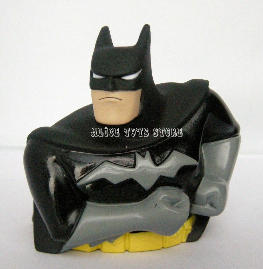 new super hero batman small coin bank money box piggy bank. Black Bedroom Furniture Sets. Home Design Ideas