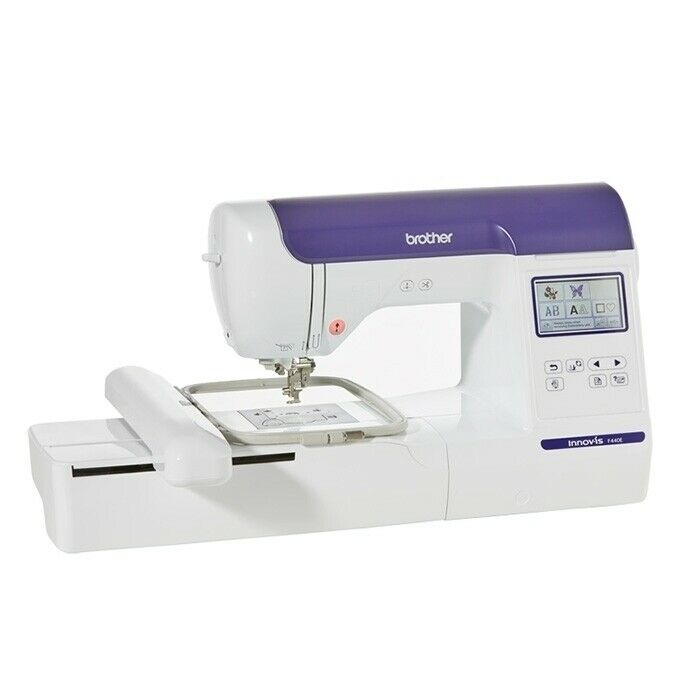 home embroidery machine with largest hoop