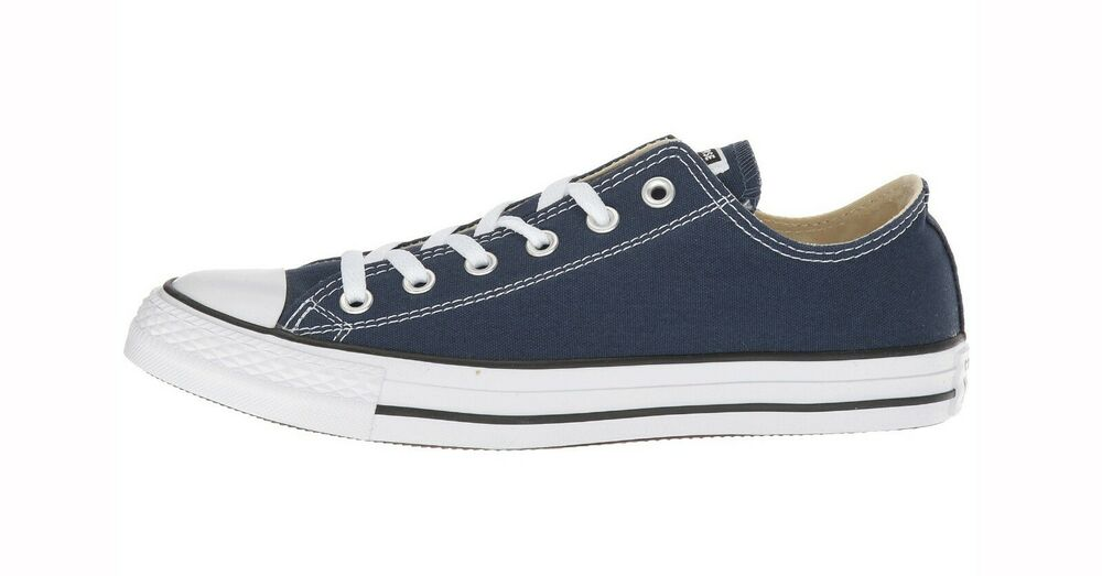 44a25f36e056 Details about Converse Chuck Taylor All Star Low Top Canvas Women Shoes  M9697 Navy Blue