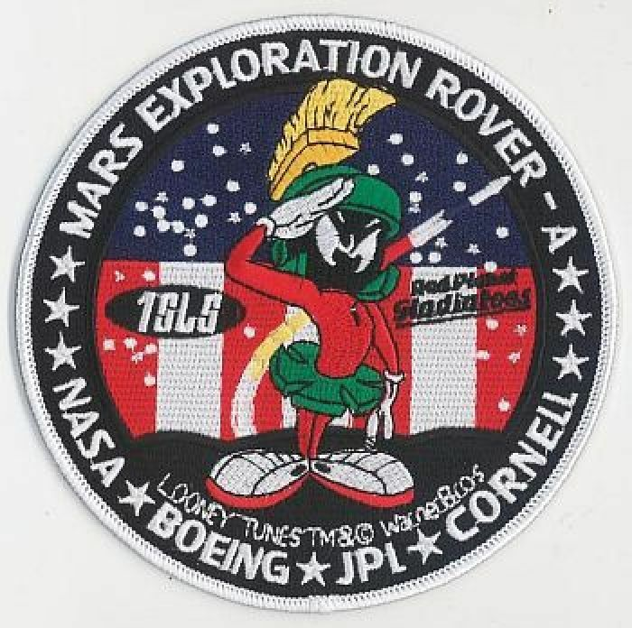 mars exploration rover mission patch - photo #3