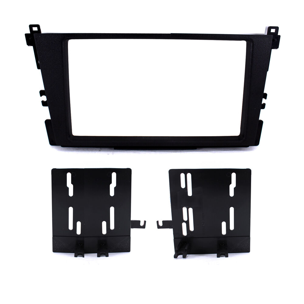 Radio Replacement Dash Installation Mounting Kit Double