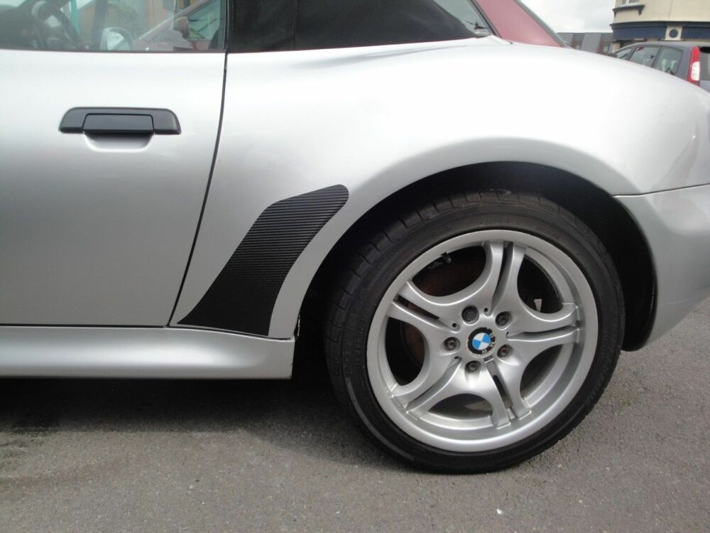 Bmw Z3 Stoneguards Stone Guards Carbon Fibre Vinyl Black Ebay