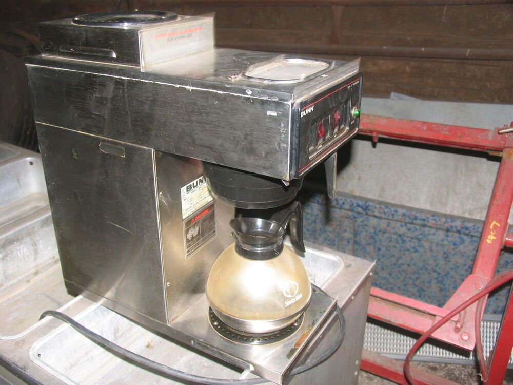 Bunn VP-17 COMMERCIAL COFFEE BREWER WARMER MAKER ...