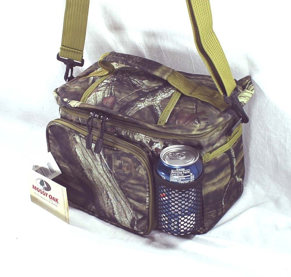 Camo Soft Cooler ~ Pk pack mossy oak camo soft insulated cooler lunch