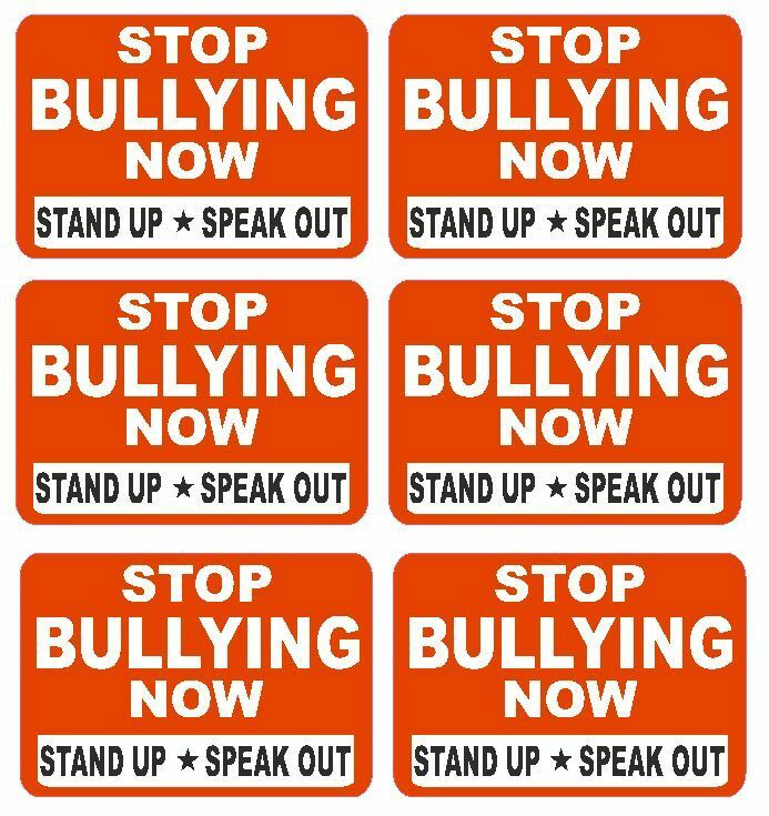 Anti bullying labels sticker decals crafts teachers for Craft schools in usa