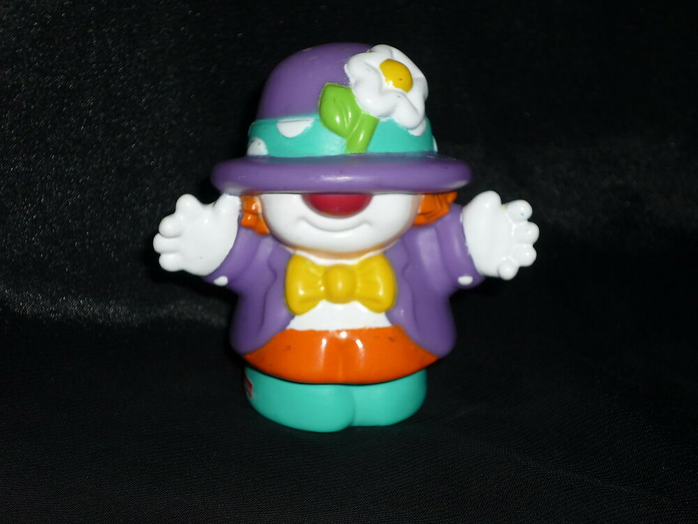 Fisher price little people funny circus man boy clown ebay for Clown fish price