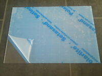 3mm Clear Frosted Plastic Sheet Cast Acrylic 210 X 297mm A4