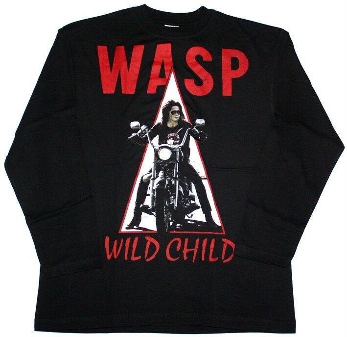 W a s p wild child 39 85 wasp heavy metal band s xxl new for Xxl band t shirts