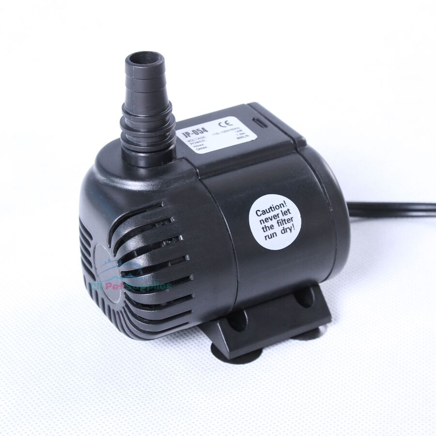 240 gph submersible pump aquarium fish tank powerhead for Fish water pump