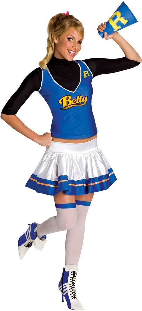 Betty Cooper Archie Comic Riverdale Cheerleader Dress Up