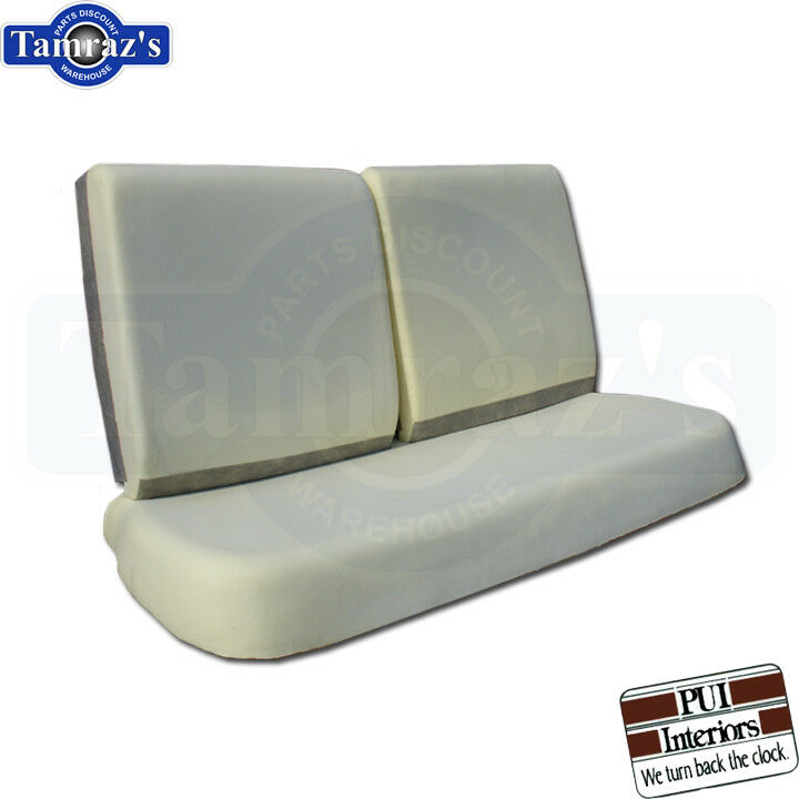 68 70 Gm A Amp X Body Front Bench Seat Foam Cushion 3 Pieces