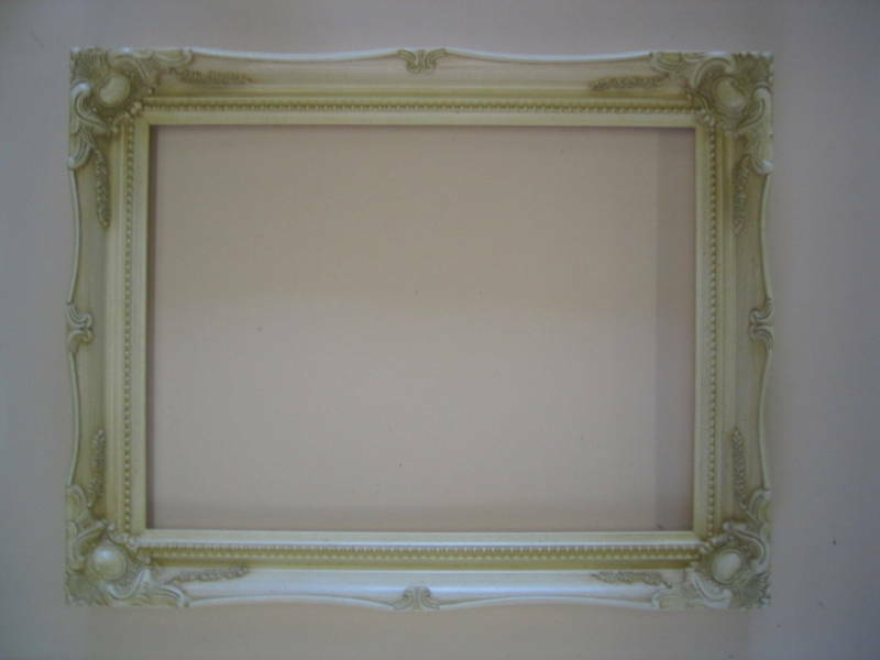 Ivory Shabby Chic Antique Style French Ornate Frame Ebay
