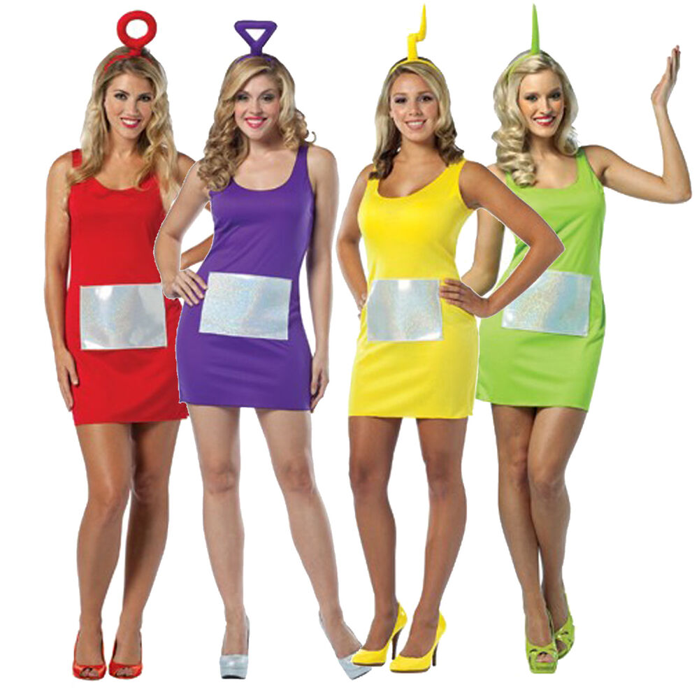 Adult teletubbies costume