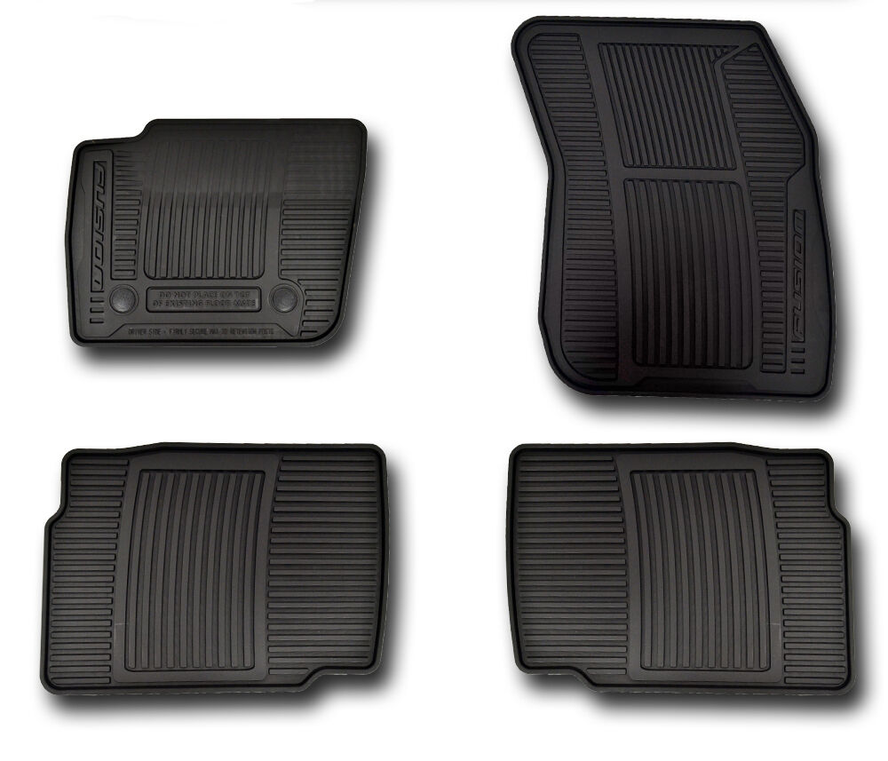 OEM NEW 13-18 Ford FUSION All-Weather Vinyl Floor Mats Rubber Catch-All,  Black | eBay