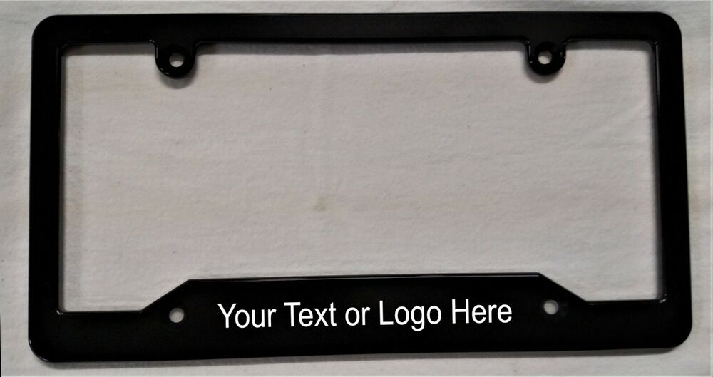 License Plate Holders >> Personalized License Plate Frame Hmcbillet | eBay