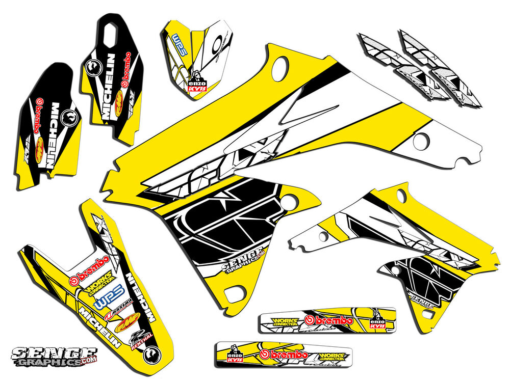1999 2000 suzuki rm125 rm 125 graphics kit 99 00 decals for Sticker deco