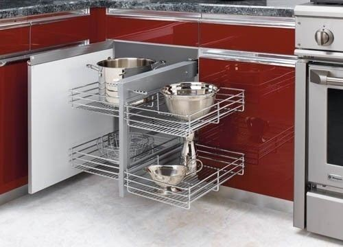 pull out wire shelves for kitchen cabinets rev a shelf non handed pullout wire pull slide pull blind 24997