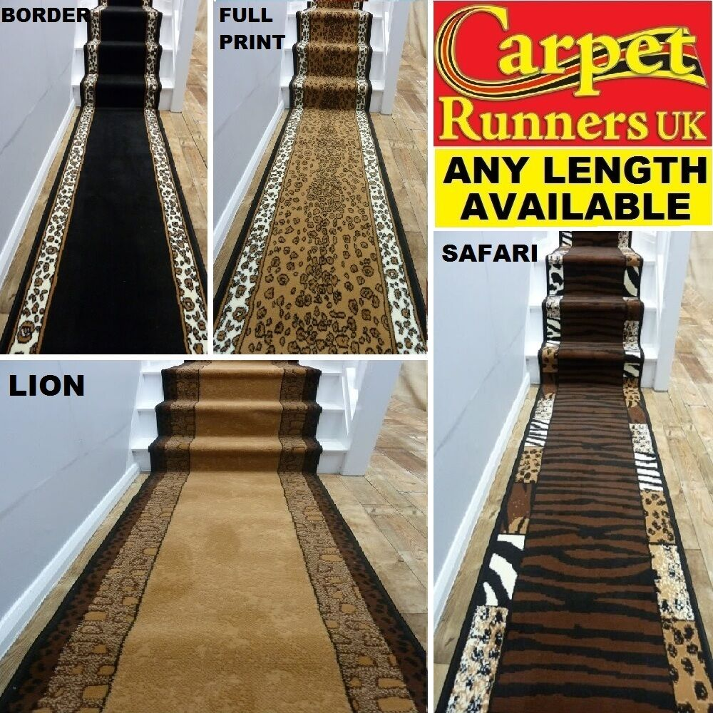 Animal Print Cheap Very Long Hallway Carpet Runner Rug