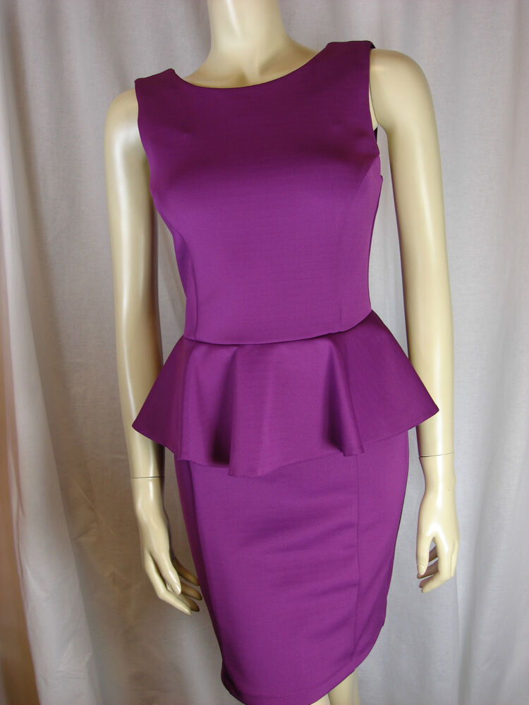 Purple skater dress topshop