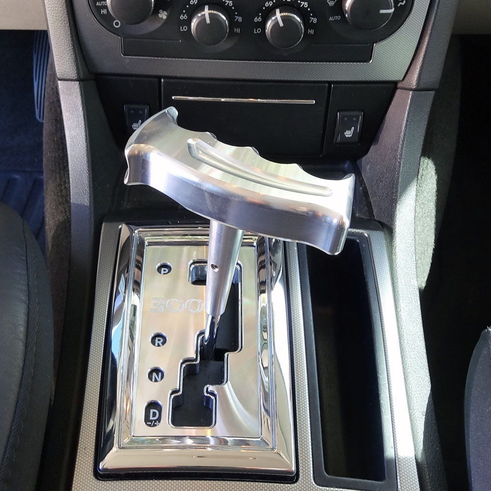 Chrysler 300 Accessories >> 2005-2012 Dodge Chrysler Designer Billet T-Handle Shifter Automatic Transmission | eBay