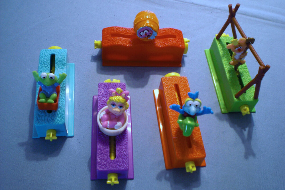 Dairy Queen Toys : Dairy queen muppet babies floats complete set of