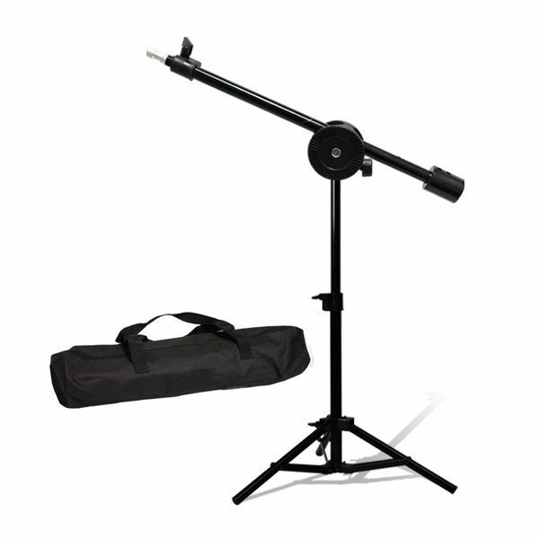 Lusana Studio Mini Table Top Overhead Boom Light Stand