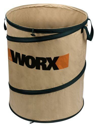 WORX WA0030 Landscaping 26-Gallon Collapsible Yard Waste Bag/Leaf Bin