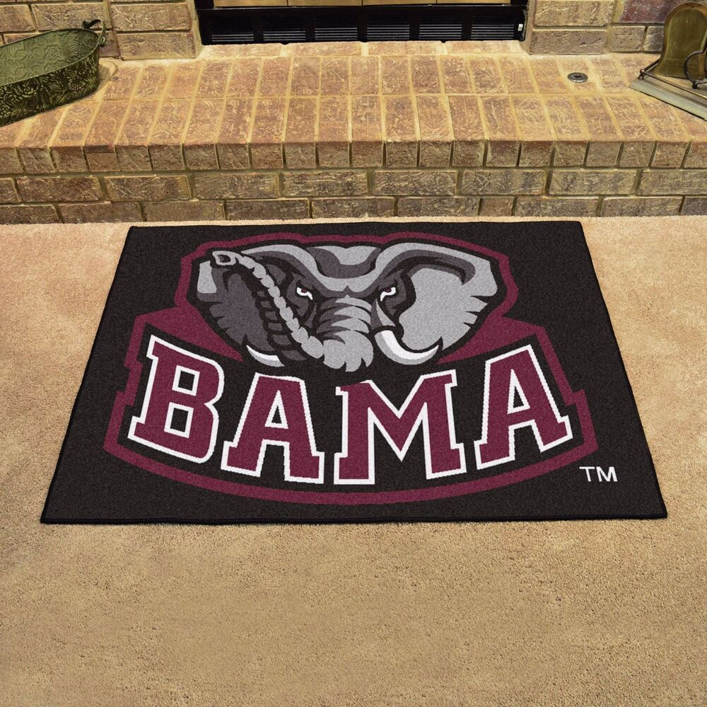 Alabama Crimson Tide 34 Quot X 43 Quot All Star Area Rug Floor Mat